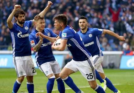 Huntelaar helpt Schalke aan een punt