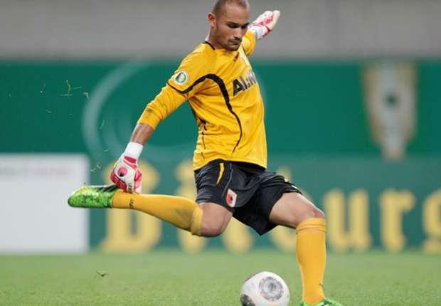 Sucht eine neue Herausforderung: Keeper Mohamed Amsif vom FC Augsburg