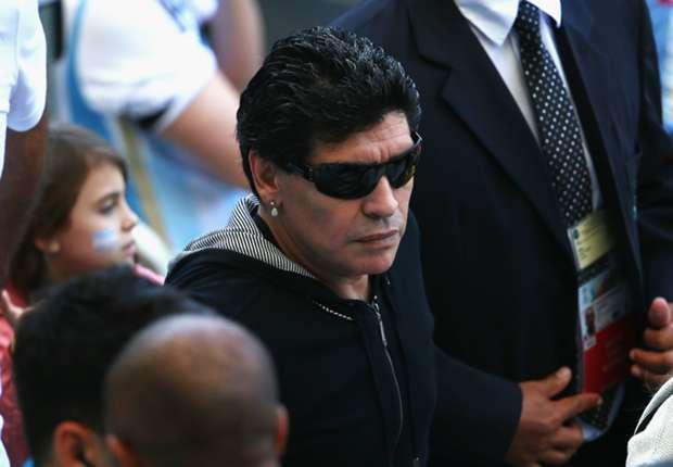 """Diego Maradona im Krankenhaus - Tochter beruhigt: """"Routine-Check"""""""