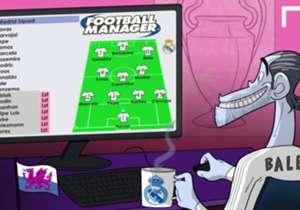 Secondo Bale nessun giocatore dell'Atletico sarebbe titolare al Real...