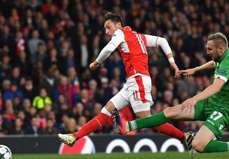 FT: Arsenal 6-0 Ludogorets