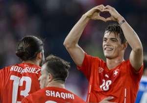 GRANIT XHAKA | Defensives Mittelfeld | Spielt für: Schweiz