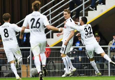 2. Liga: KSC schlägt Sandhausen