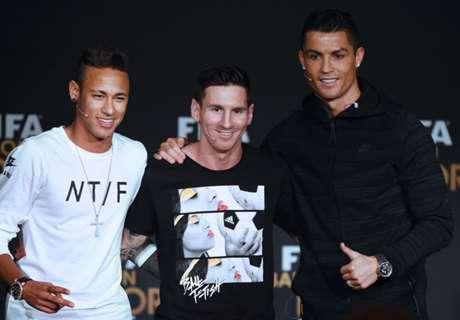 Ballon d'Or: So wählten Messi & CR7