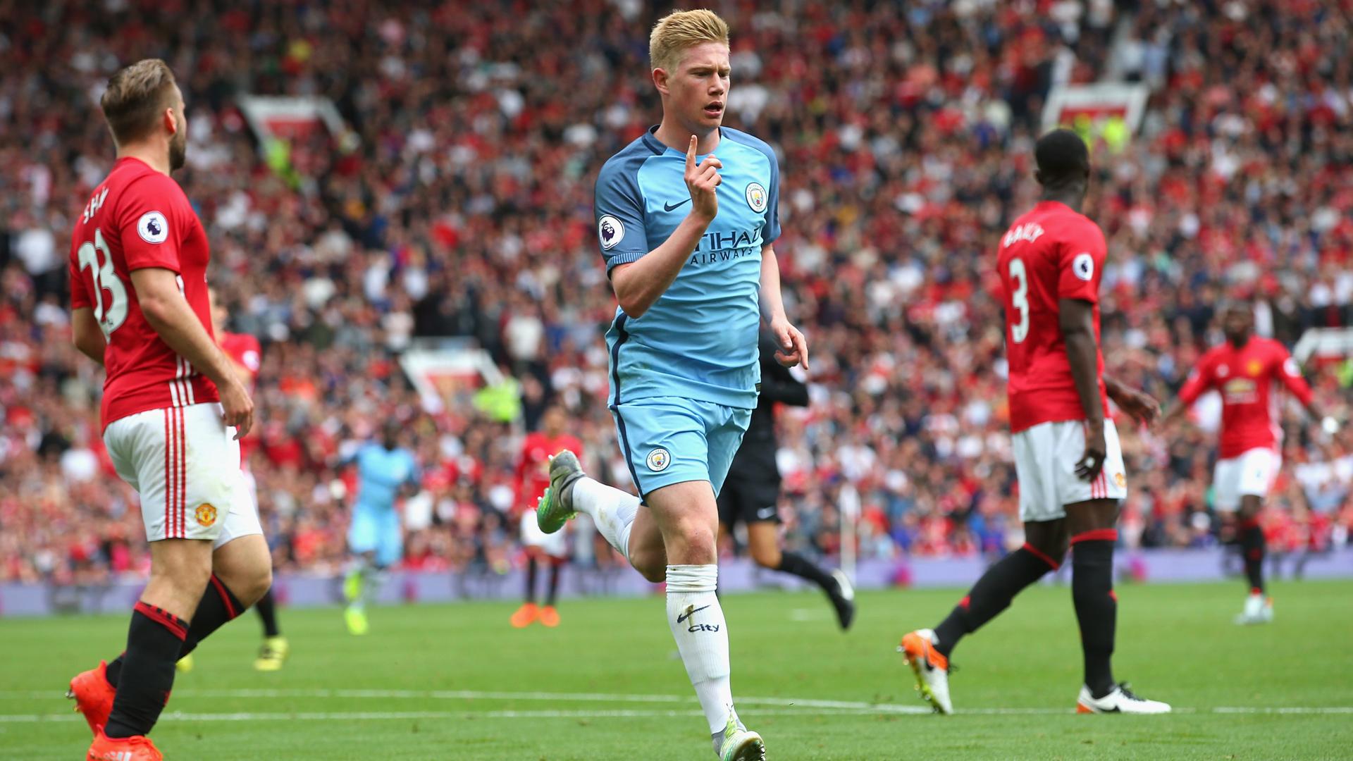 Kevin de Bruyne Manchester City 10092016