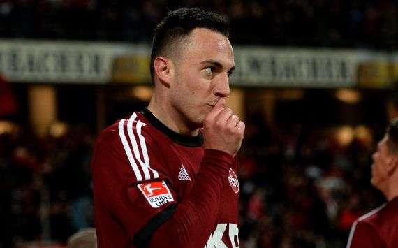 Josip Drmic hat bereits 16 Tore in dieser Saison für Nürnberg erzielt