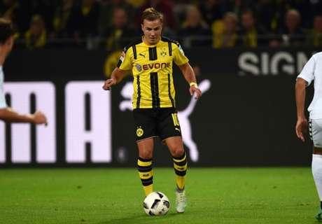 Dortmunds Mario Götze: Wieder hier