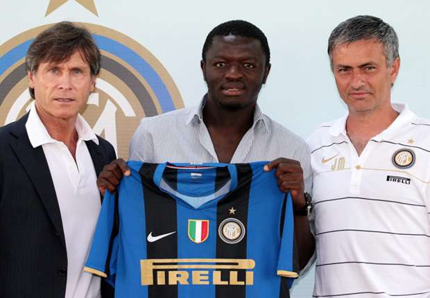 Image result for sulley muntari mourinho