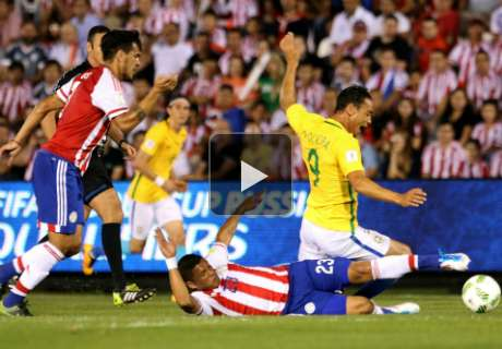 Paraguay-Brésil 2-2, résumé de match