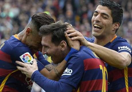 Barca hat den Titel selbst in der Hand