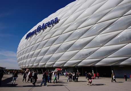Allianz Arena vor Umbau