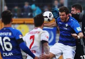 Die Hamburger nehmen aus Darmstadt den Dreier mit, der BVB dreht nach einem Rückstand enorm auf und die Bayern jubeln in Mainz. Die Bilder zum Spieltag.