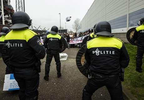 NL: Polizei ermittelt gegen Fackelwerfer