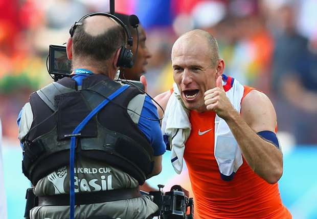 Robben: Germany are World Cup favourites