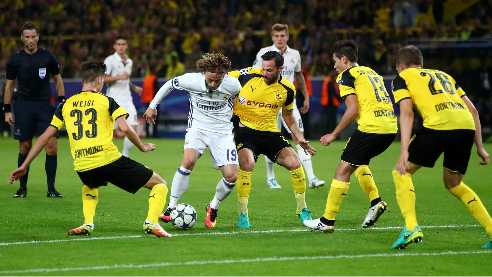 Luka Modric Borussia Dortmund Real Madrid Champions League 27092016