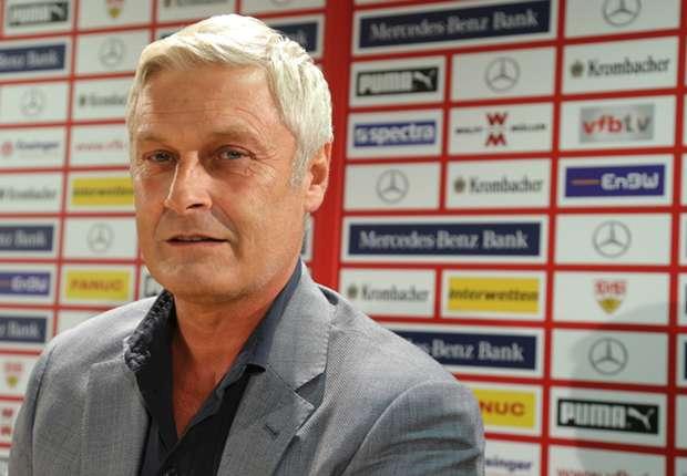 Armin Veh will mit dem VfB Stuttgart hoch hinaus