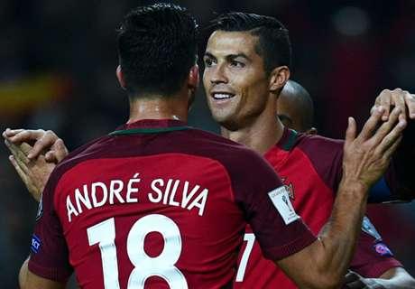 Portugal e Bélgica dão show