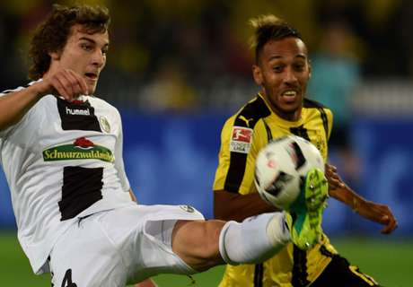 Aubameyang scores as BVB win again