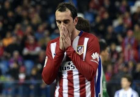Atletico lange ohne seinen Abwehrchef