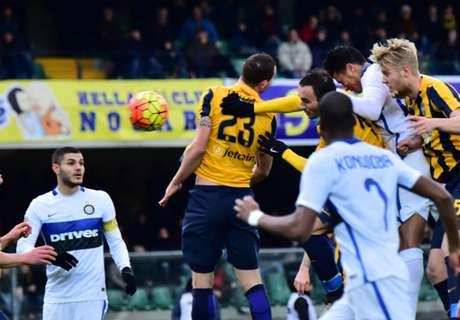 Inter puanı zor kurtardı