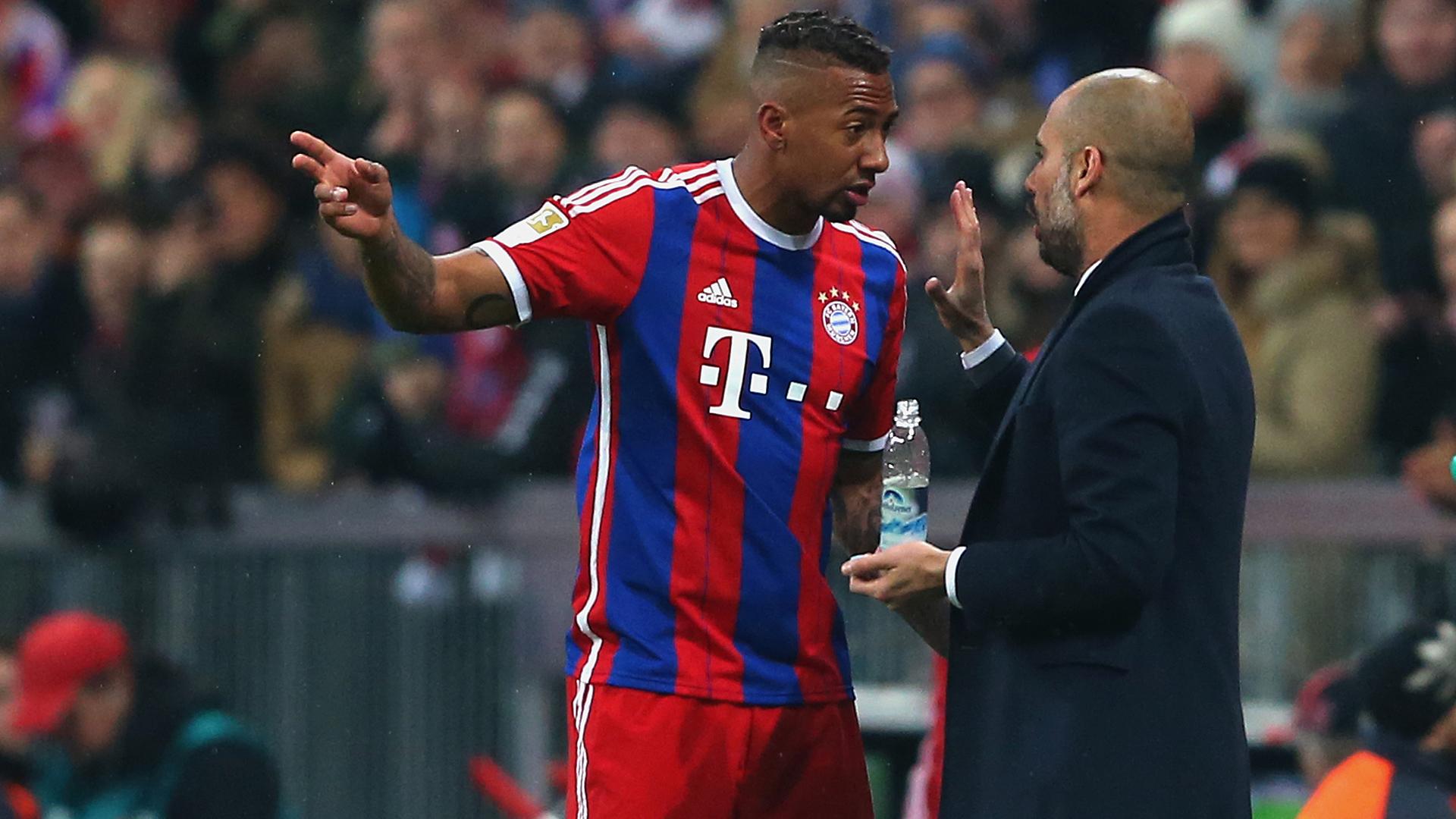 Bayern Munich News Pep Guardiola Admits Jerome Boateng Could Miss