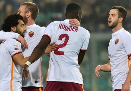 Roma boekt derde zege op rij
