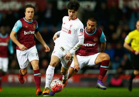 West Ham-Liverpool 2-1 ap, résumé de match