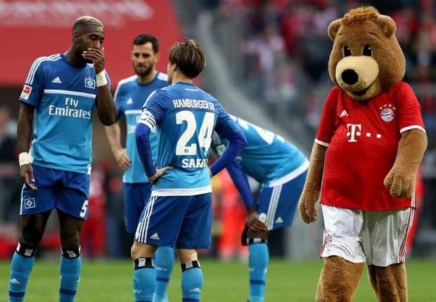 Beim HSV gab es in München einiges zu bereden