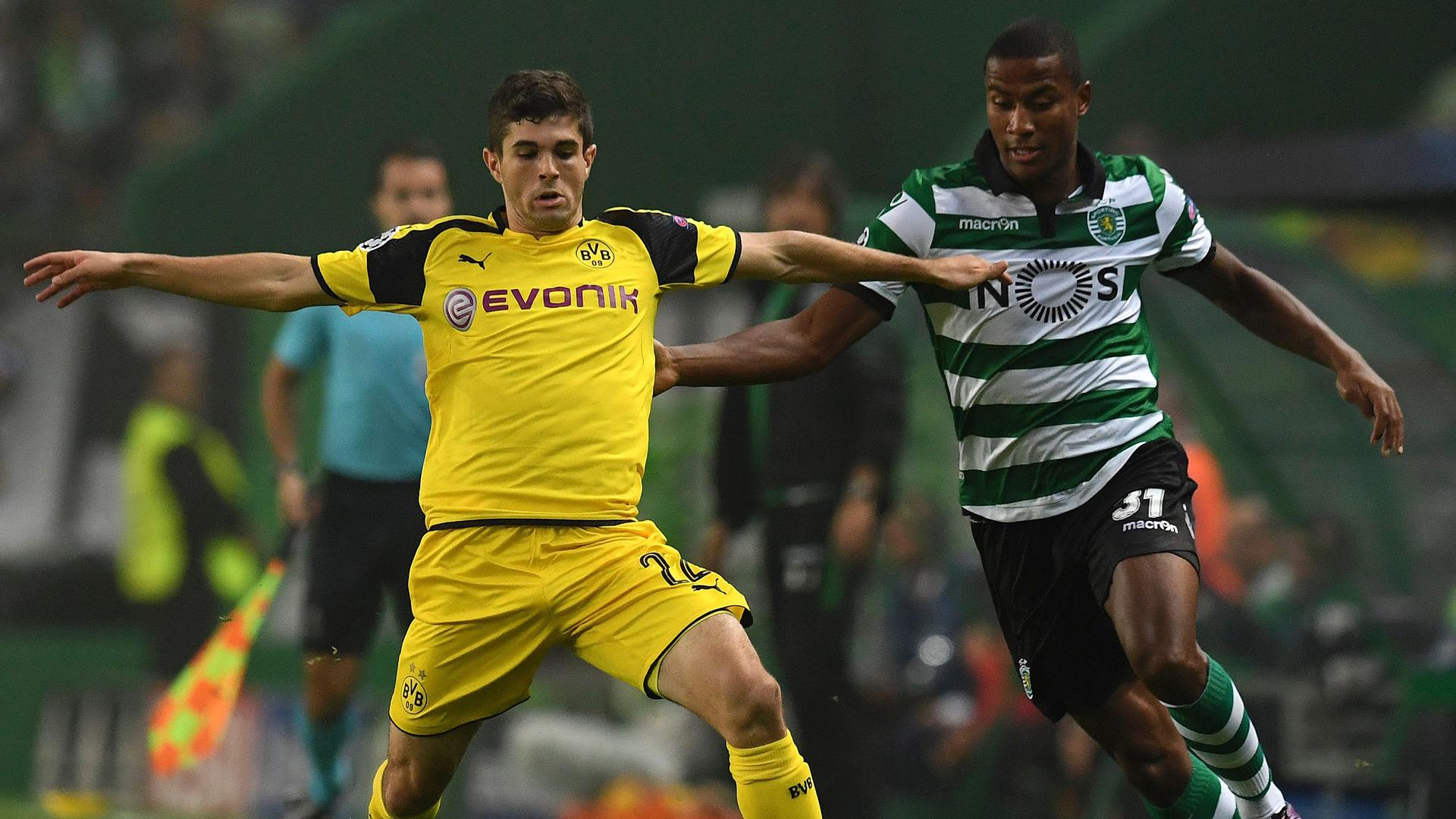 Dortmund se quedó con los tres puntos en Lisboa