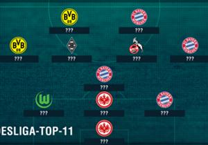 Der erste Bundesliga-Spieltag ist Geschichte und trotz extremer Hitze auf den Plätzen ist auf die Torjäger auch in der neuen Saison wieder Verlass. Auch zwei Frankfurter überzeugen. Goal präsentiert euch die Top-11.