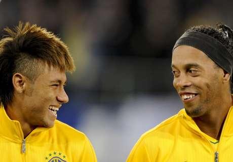 Ronaldinho: City könnte Neymar holen