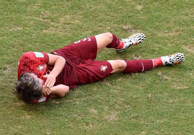 Musste mit Leistenproblemen vom Platz: Fabio Coentrão