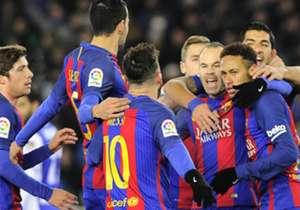 Neymar (r.) blieb vom Elfmeterpunkt eiskalt
