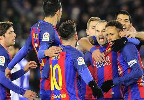 Copa: Barca siegt dank Neymar