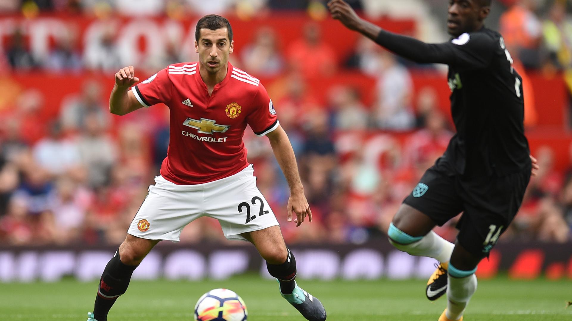 Henrikh Mkhitaryan Manchester United 13082017