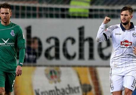 2. Liga: Duisburg bleibt Letzter