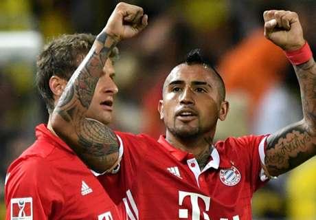 Dortmund-Bayern 0-2: Vidal e Muller