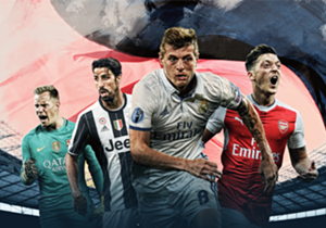 """Wie haben sich Marc-Andre ter Stegen, Sami Khedira, Toni Kroos oder Mesut Özil am Wochenende geschlagen? Goal beleuchtet die Leistung der wichtigsten deutschen Legionäre. <p style=""""text-align: center;""""><a href=""""http://bit.ly/2aEJWTB"""" target=""""_blank""""><u..."""