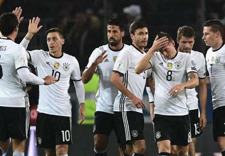 FIFA-Ranking: DFB am Jahresende Dritter