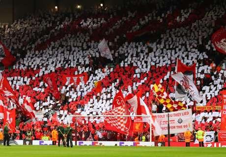 El minuto de silencio de Anfield