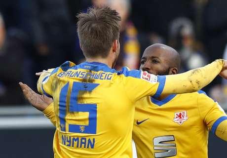2. Liga: Braunschweig rettet Punkt