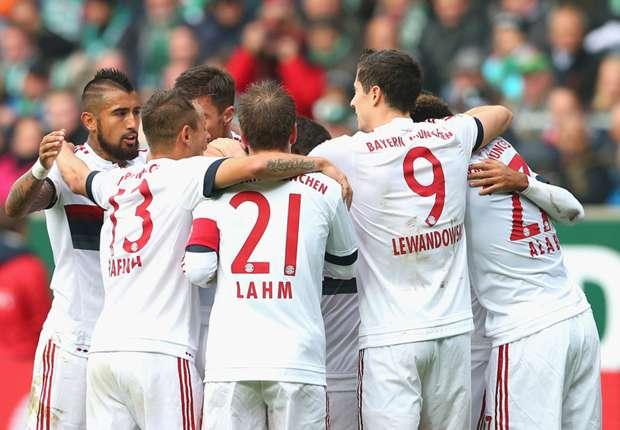 Werder Bremen 0 1 Bayern München Spielbericht 171015 Bundesliga