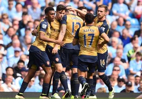 Arsenal behauptet Rang drei