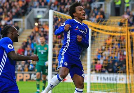Hull-Chelsea 0-2: Willian-Costa