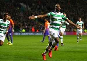 Moussa Dembele erzielte gegen Manchester City in der Champions League einen Doppelpack