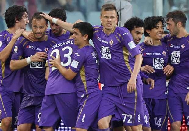 Die Fiorentina siegte ungefährdet mit 3:0 gegen Parma