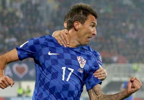 Kroatien: Mandzukic zweitbester Torjäger