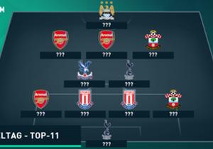 Zwei Südamerikaner präsentieren sich in Knipser-Laune, zwei Deutsche in absoluter Top-Form. We proudly present: die schussgewaltige Top-11 des achten Premier-League-Spieltages ...