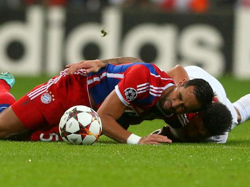 Infermeria piena al Bayern Monaco: si ferma anche Benatia, out 20 giorni