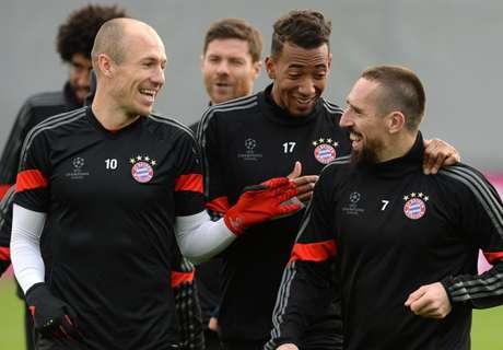 Robben ravi du retour de Ribéry